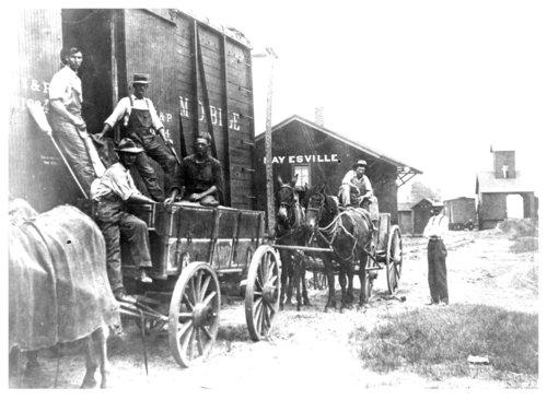 Chicago, Rock Island & Pacific Railroad depot, Haysville, Kansas - Page