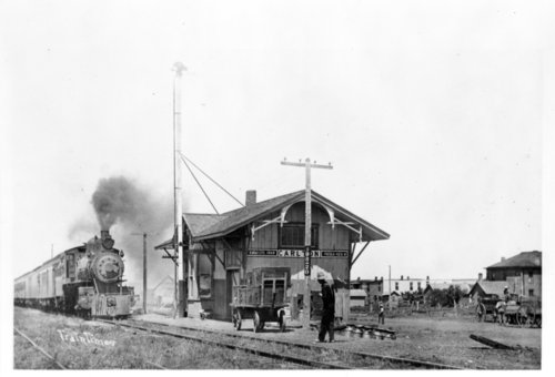 Missouri Pacific Railroad Company depot Carlton, Kansa - Page