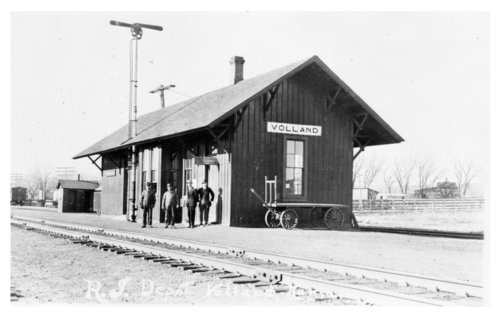 Chicago, Rock Island & Pacific Railroad depot, Volland, Kansas - Page