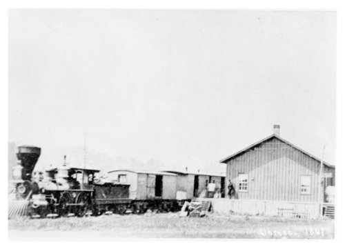 Union Pacific Railway Eastern Division depot, Wamgeo, Kansas - Page