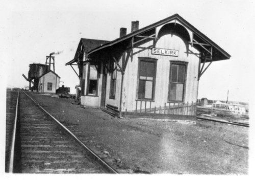 Missouri Pacific Railroad depot Selkirk, Kansas - Page