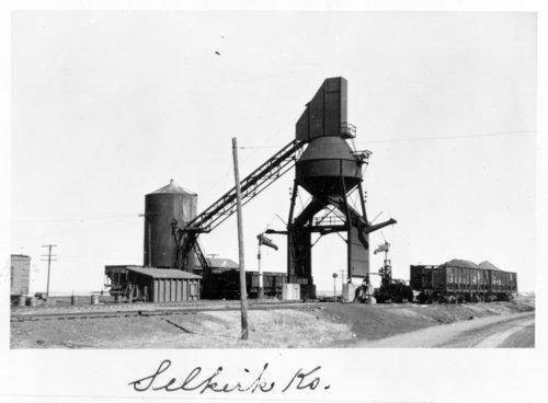 Missouri Pacific Railroad coal chute, Selkirk, Kansas - Page