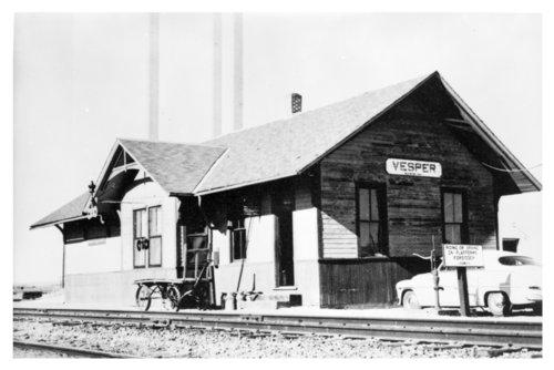 Union Pacific Railroad Company depot, Vesper, Kansas - Page