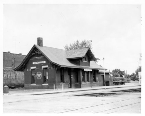 Missouri Pacific Railroad depot, Osawatomie, Kansas - Page
