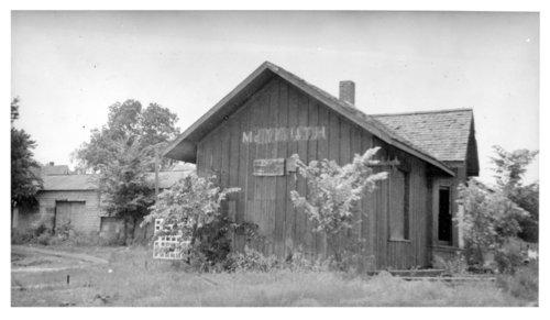 Kansas City, Northwestern Railroad depot, McLouth, Kansas - Page