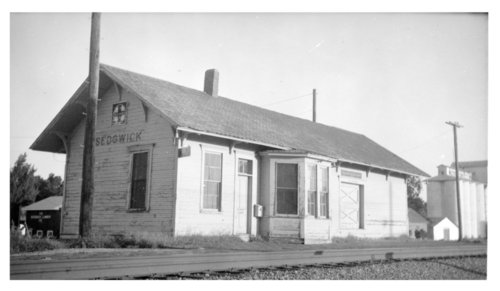 Atchison, Topeka & Santa Fe Railway Company depot, Sedgwick, Kansas - Page
