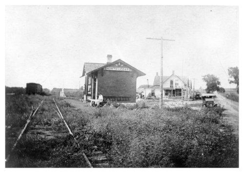 Railroad depot, North Cedar, Kansas - Page
