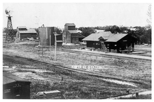 Atchison, Topeka & Santa Fe Railway Company depot, Cheney, Kansas - Page