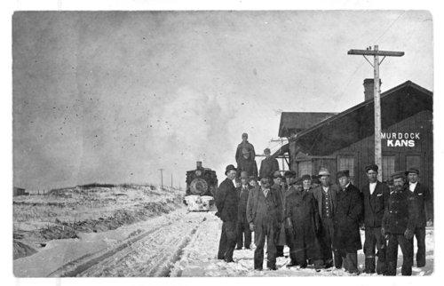 Atchison, Topeka & Santa Fe Railway Company depot, Murdock, Kansas - Page