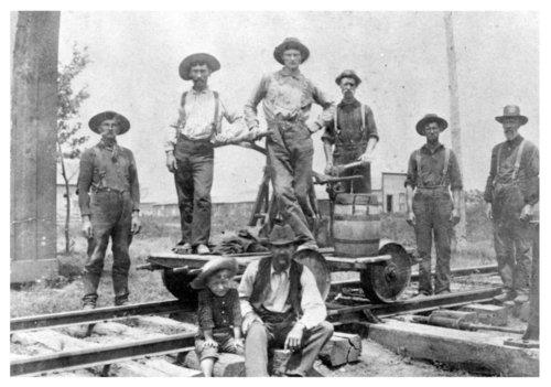 Railroad Crew, Chetopa, Kansas - Page