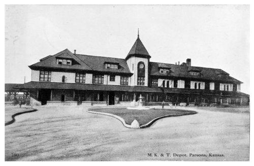 Missouri-Kansas-Texas Railroad depot, Parson, Kansas - Page