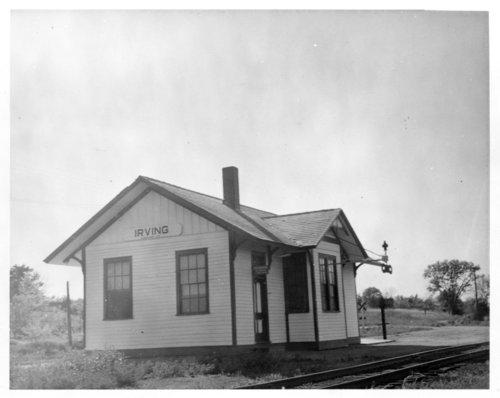 Union Pacific Railroad Company depot, Irving, Kansas - Page