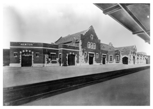 Atchison, Topeka and Santa Fe Railway Company depot, Newton, Kansas - Page