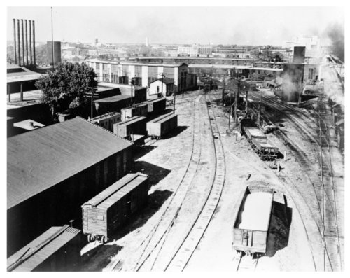 Atchison, Topeka & Santa Fe Railway Company yards and roundhouse, Newton, Kansas - Page