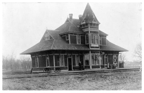 Kansas & Southern Railroad depot, Bluff City, Kansas - Page
