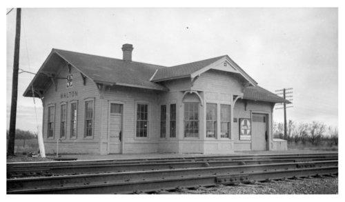 Atchison, Topeka & Santa Fe Railway Company depot, Walton, Kansas - Page