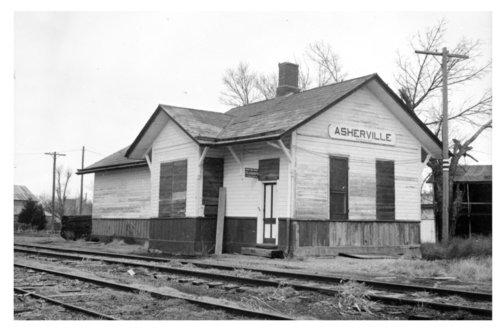 Union Pacific Railroad Company depot, Asherville, Kansas - Page