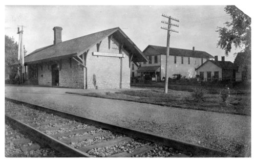 Union Pacific Railroad Company depot, Grantville, Kansas - Page