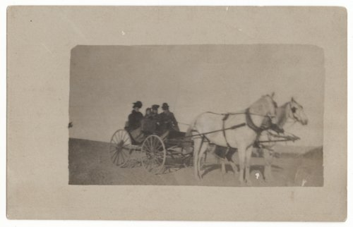 Buggy ride across the plains of Kansas - Page