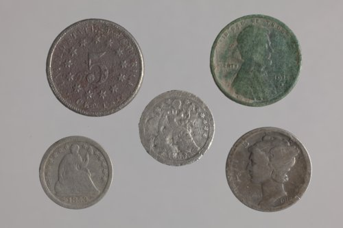 Coins from the Plowboy Site, 14SH372 - Page