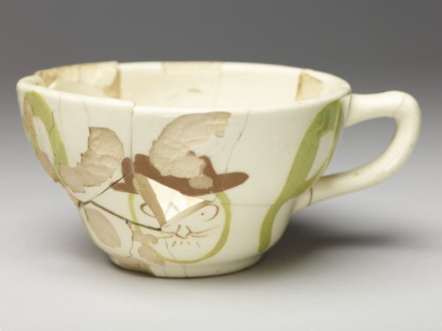 Hand Painted Coffee Cup from the Plowboy Site - Page
