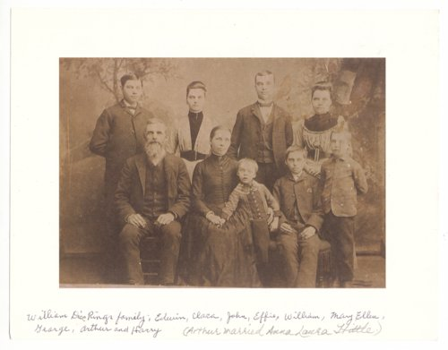 William Dice and Mary Ellen Rings family portrait - Page