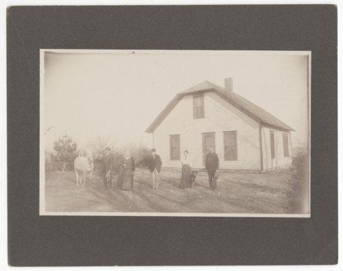 W.P. Martin home photograph - Page