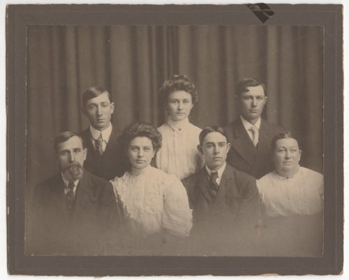 John Peter and Mary Browning Hittle family portrait - Page