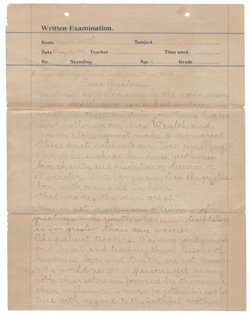 Anna Hittle essay - Page