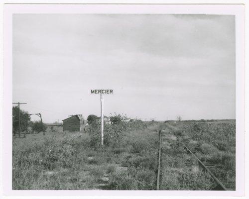 Chicago, Rock Island & Pacific Railroad sign board, Mercier, Kansas - Page
