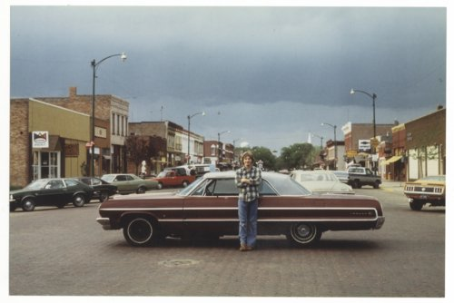 Car on Main Street in Lindsborg, Kansas - Page