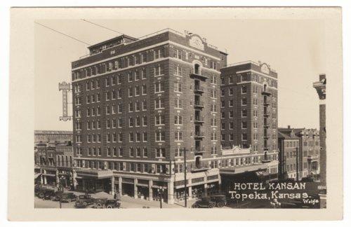 Hotel Kansan, Topeka, Kansas - Page
