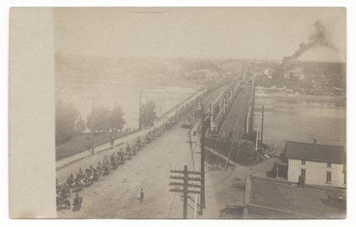 Horseback parade, Topeka, Kansas - Page