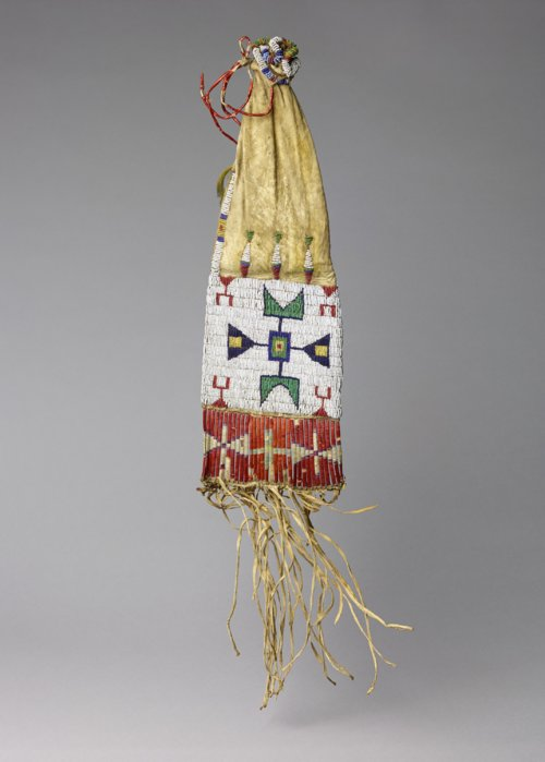 Beaded and Quill Worked Pipe Bag - Page