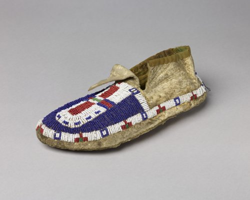 Beaded Moccasin - Page