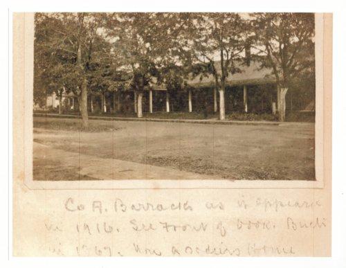 Company A barracks at Fort Dodge, Kansas - Page