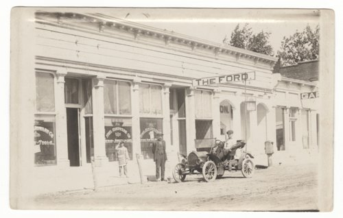 Hoel Hardware Company and Ford dealer, Cottonwood Falls, Kansas - Page