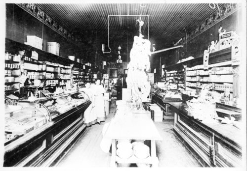 Interior of a grocery store in Neodesha, Wilson County, Kansas - Page