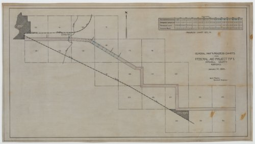 Federal Aid Project No. 1, Mitchell County, Kansas - Page