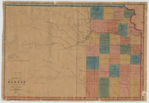 Township Map of Kansas - Page