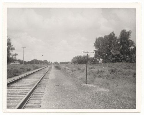 Missouri Pacific Railroad Company's sign board, Monrovia, Kansas - Page