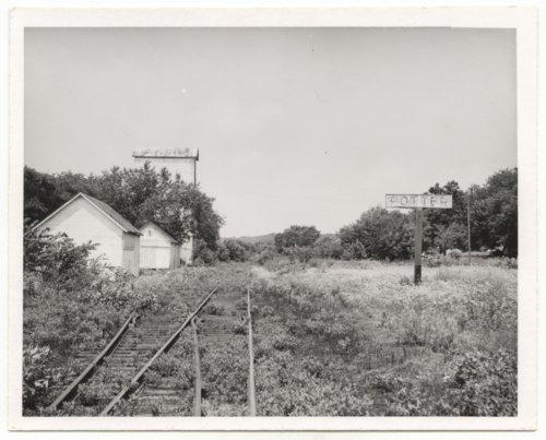Atchison, Topeka & Santa Fe Railway Company's sign board, Potter, Kansas - Page