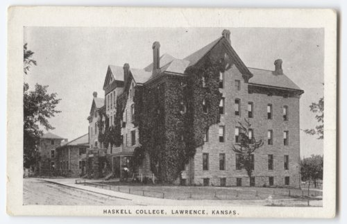 Boys' building, Haskell Institute - Page