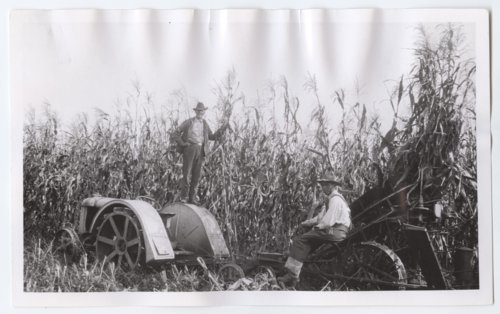 Haskell Institute students working on a farm, Lawrence, Kansas - Page