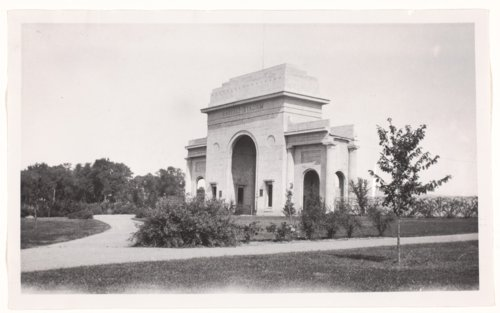 Stadium Arch, Haskell Institute - Page