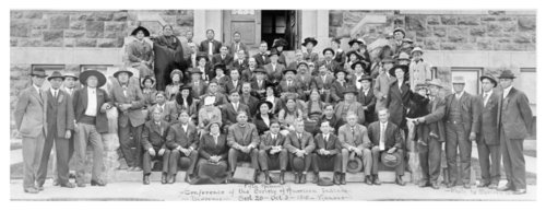 Fifth Annual Conference of Society of American Indians, Haskell Institute - Page
