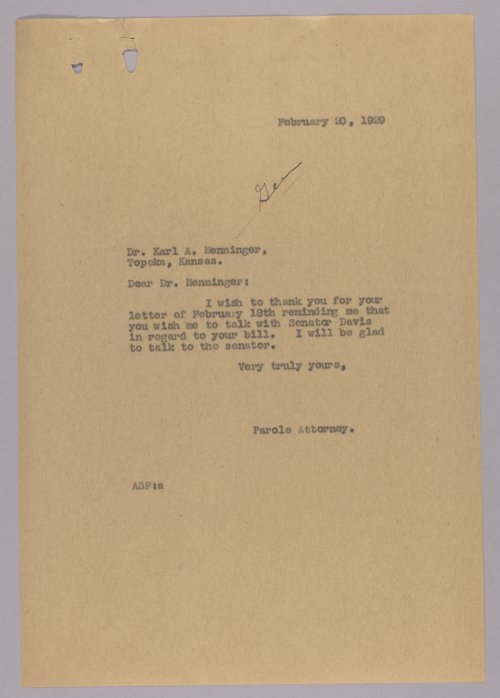 Governor Clyde M. Reed correspondence, alphabetical file (N) - Page