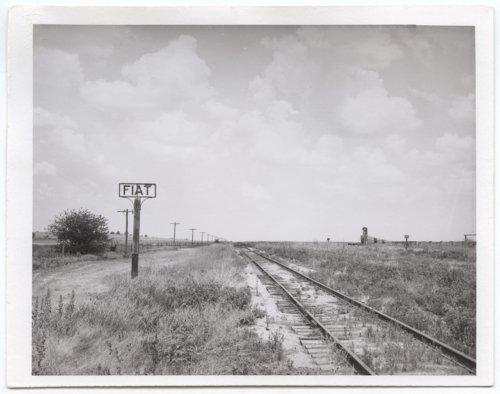 Atchison, Topeka & Santa Fe Railway Company's sign board - Page