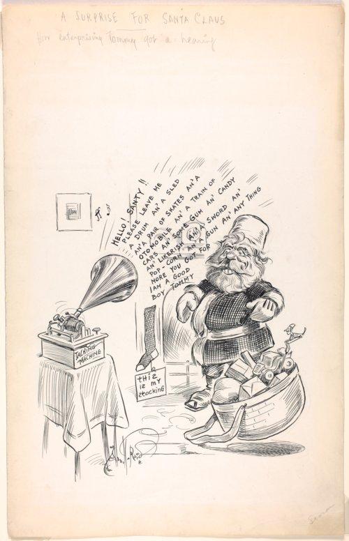 Cartoon by Alfed T. Reid - Page