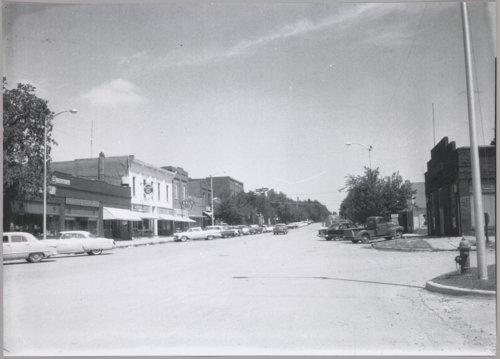 Main Street in Cimarron, Kansas - Page